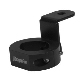 DragonFire Racing Universal Whip Mount for Round Cage Universal Mount, Black