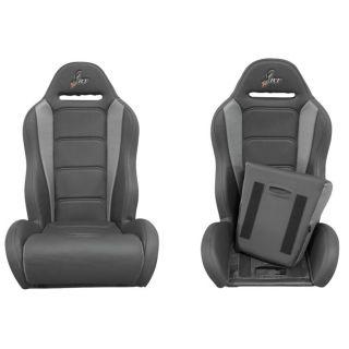 DragonFire Racing Highback RT Seat Black/Grey, Pair