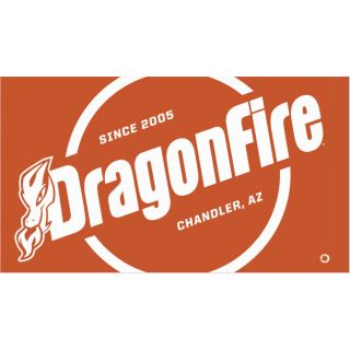 DragonFire Racing Whip Flags Orange Safety Flag, One-sided Print