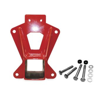 DragonFire Racing Heavy-Duty Rear Receiver Hitch Red
