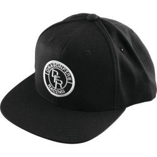 DragonFire Racing Circle Logo Snapback Hat Black