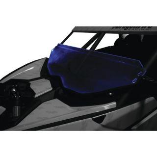 DragonFire Racing Windshield Light Blue