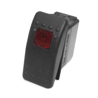 DragonFire Racing On/Off Rocker Switch On/Off Rocker Switch, Red Light