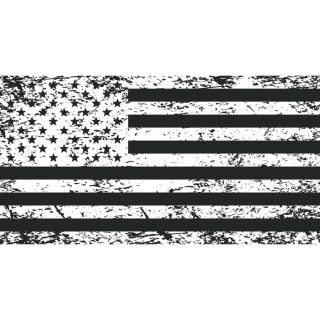 DragonFire Racing Whip Flags Tattered American Flag, Double-sided Print