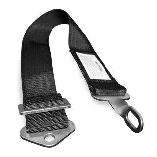 "DragonFire Racing Harness Submarine Belt Black, 2"" Belt"