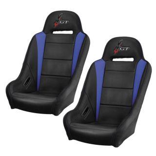 DragonFire Racing Highback RT Seat Black/Blue, Pair